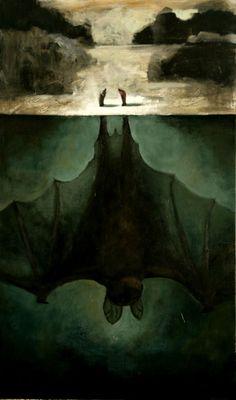 Bat below