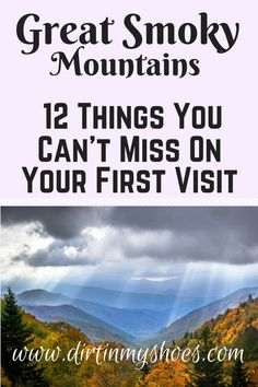 Experience the best hikes and viewpoints at Great Smoky Mountains National Park with this list of things you can't miss -- written by a former park ranger! Smoky Mountains Tennessee, Great Smoky Mountains, American National Parks, Us National Parks, Road Trip On A Budget, Travel Tips, Rv Travel, Travel Ideas, Travel Destinations