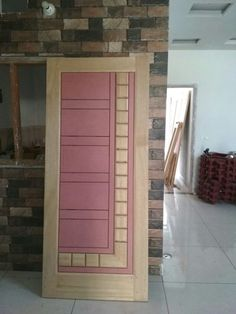 Lsworld Door Design 92 Lsworld Nnnn In 2019 Door Flush Door Design, Single Door Design, Wooden Front Door Design, Double Door Design, Door Gate Design, Lcd Wall Design, Wooden Front Doors, Bed Design, Pooja Room Door Design