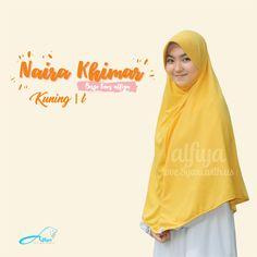 Naira Khimar Size L  Material : PE Premium, INGIN ORDER? Kunjungi instagram kami  #jilbab #hijab #pashmina #muslimah #hijabtrend #alfiya #alfiyahijab #indonesia #khimar