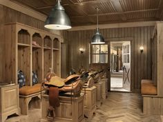 A tack room I would live in!...