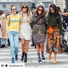 """2,358 Gostos, 19 Comentários - Anna Dello Russo (@anna_dello_russo) no Instagram: """"#Repost @styledotcom with @repostapp ・・・ Crew love. @anna_dello_russo @bat_gio @micolsabbadini…"""""""