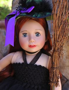 Halloween Costumes for American Girl Dolls are at www.harmonyclubdolls.com