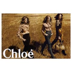 Chloé Ad Campaign Fall/Winter 2009 Shot #5 ❤ liked on Polyvore