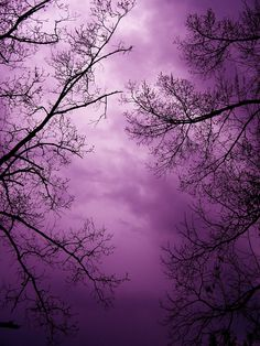 An amethyst sky. Inspiration for #purple #gems