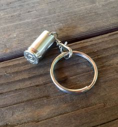 Bullet Casing Keychain by joolrylane on Etsy