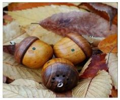 There's no better sign of the season than freshly fallen acorns and leaves on sidewalks. Enjoy Fall by listening to music straight from the source on a tiny Music Gadgets, Technology Gadgets, Wooden Speakers, Rustic Wooden Box, Hello Beautiful, Listening To Music, Acorn, Mp3 Player, Handicraft