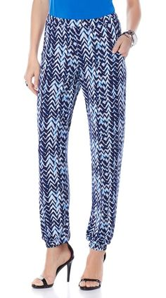 Traveling this spring? Pack these printed harem pants by Slinky that are wrinkle-free and oh-so-stylish and come in four different prints! Which pattern are you loving?