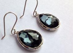 Ippolita Wonderland Mini Teardrop earrings in Hematite doublet 925 NWOT $395 #Ippolita #DropDangle