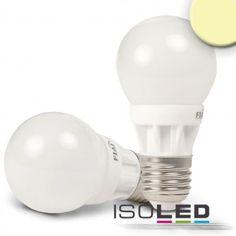 E27 LED BIRNE G50, 5W, WARMWEISS / LED24-LED Shop