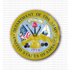 US Department of the Army Sticker