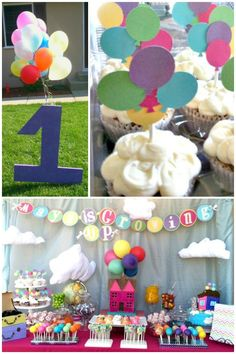 Party inspired by the movie UP!