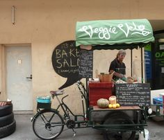 Veggie Velo Vegetarian food by cargo bike in Adelaide