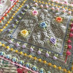Rainbow Garden Blanket Pattern  online now and instant download PDF! ✅www.spitspotloves.co.uk✅