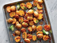 Roasted Potatoes With Salsa | Yep. With Salsa. You won't believe how good they taste.