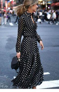 Women Black Plus Size Vintage Bohemia Vacation Maxi Dress Mode Outfits, Dress Outfits, Fashion Dresses, Fashion Clothes, Style Clothes, Lovely Dresses, Trendy Dresses, Awesome Dresses, Black Women Fashion