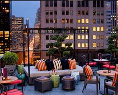 Rooftop balcony #NewYork City ~ http://VIPsAccess.com/luxury-hotels-new-york.html