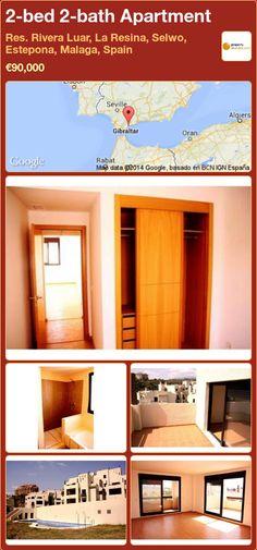2-bed 2-bath Apartment for Sale in Res. Rivera Luar, La Resina, Selwo, Estepona, Malaga, Spain ►€90,000