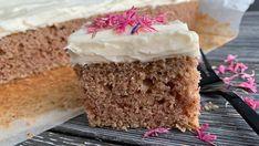 Foto: Marit Hegle Vegan Vegetarian, Vegetarian Recipes, Vanilla Cake, Delish, Bakery, Food And Drink, Veggies, Desserts, Sweet Stuff