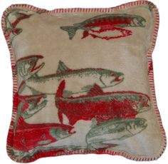 Pacific Five Throw Pillow