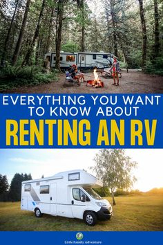 Motorhome Rentals, Rv Rental, Travel With Kids, Family Travel, Family Vacations, Summer Travel, Rv Camping Tips, Camping Ideas, Rv Travel