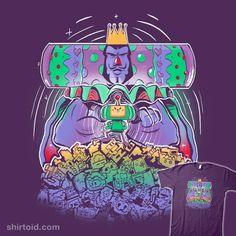 Rolling All Day | Shirtoid #gaming #katamaridamacy #kevinfagaragan #king #videogame