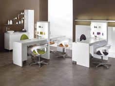Manicure table with vacuum cleaner - LOGIC - Medical & Beauty