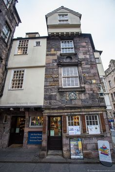 John Knox House hidden top Edinburgh attractions Scotland