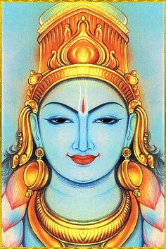 SHRI VISHNU NARAYANA. Artist: Padmavasan