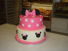 Minnie Mouse Birthday Cake!!!