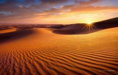 Sahara Sunrise by Jarrod Castaing on 500px