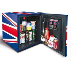 Husky Union Jack Mini Refrigerator