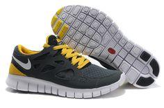 8fe907a73a918 Anthracite White Black Sonic Yellow Nike Free Run 2 Size 12 Nike Shoes  Cheap