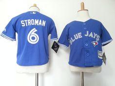 Infant MLB Majestic Toronto Blue Jays #6 Marcus Stroman Jerseys