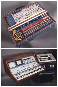 Ubiquity Records Buchla Music Easel (1972) & Buchla 500 Series synthesizer (1971)...