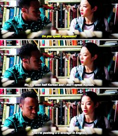 """#TeenWolf Season 5 Episode 6 """"Required Reading"""" Mason Hewitt and Kira Yukimura"""