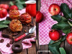 Nicest Things: Apfel-Karamell-Millefeuille mit Pecannüssen, Bratapfel, Apples