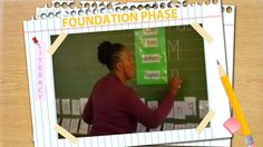 Matshediso Poolo at Boneha Primary School starts her lesson with a poem. She writes her name on the board because she wants them to see that names start with. Sentence Construction, How To Teach Kids, School Starts, Teaching Techniques, Punctuation, Primary School, Grade 1, Teaching Kids, Sentences