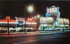 Hagin & Koplin Ford dealership - Newark, NJ, 1950s