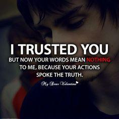 ";"") i trusted him..."