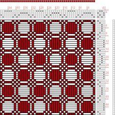draft image: Figure 430, A Manual of Weave Construction, Ivo Kastanek, 4S, 4T