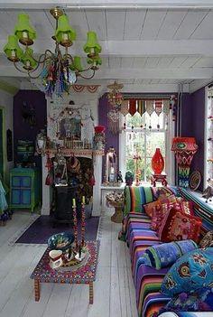 gypsy bohemian room