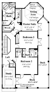 Angie schottmuller on pinterest for Master bedroom with sitting room floor plans