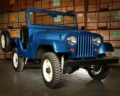 1955 Willys CJ-5 Coker | Jeep Collection