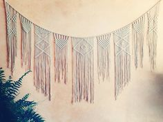 Custom Macrame Bunting, Wedding Decor, Home Decor, Children - Various Sizes Available