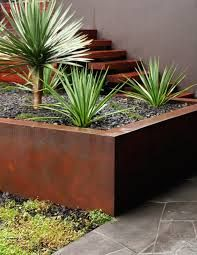 Image result for STRAIGHT CUT CORTEN STEEL EDGING