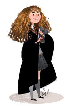 Reconocimiento a su respectivo autor. Tanto como a J.K Rowling y a la persona que haya hecho este maravilloso dibujo. ¿¡Cuando será el día en que yo aprenda a dibujar así!?
