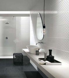 Les 138 meilleures images de carrelage salle de bains en - Carrelage salle de bains design ...