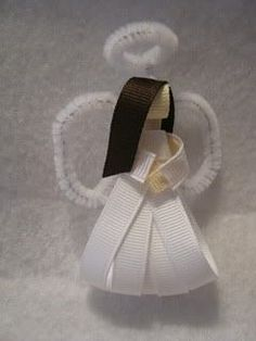 Angel, Gingerbread, snowflake, holy sculpture tutorials - Hip Girl Boutique Free Hair Bow Instructions--Learn how to make hairbows and hair clips, FREE!: