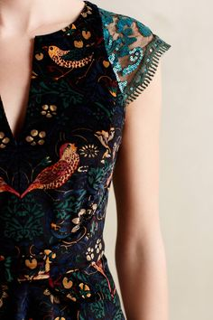 Larksong Corduroy Dress by Eva Franco  #anthropologie